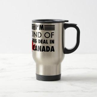 Je suis un peu une affaire au Canada Mug De Voyage