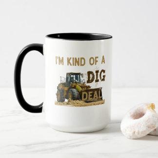 Je suis un peu une affaire de FOUILLE Mug