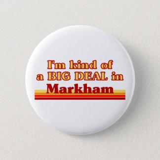 Je suis un peu une affaire en Markham Pin's