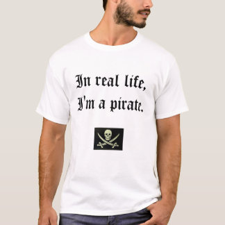 Je suis un pirate.  Jurez T-shirt