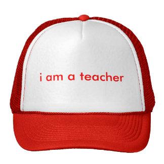je suis un professeur casquette de camionneur