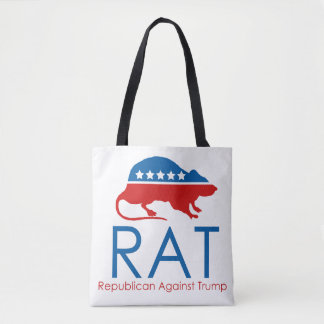 Je suis un R.A.T : Républicain contre l'atout Tote Bag