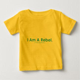 Je suis un rebelle t-shirt pour bébé