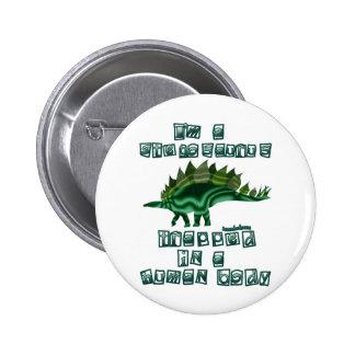Je suis un Stegosaurus Pin's