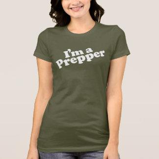 Je suis un T-shirt de femmes de Prepper