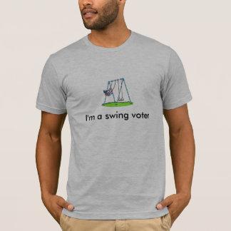 Je suis un T-shirt d'électeur d'oscillation