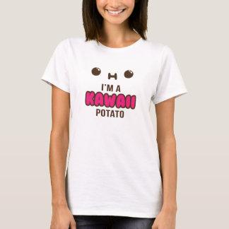 Je suis un T-shirt mou de pomme de terre de Kawaii