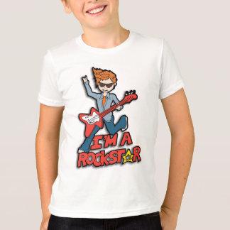 Je suis un T-shirt rockstar de garçons