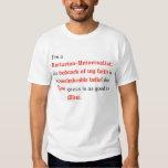 Je suis un universaliste unitarien t-shirt