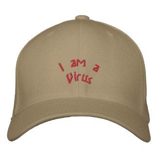 Je suis un virus casquette brodée