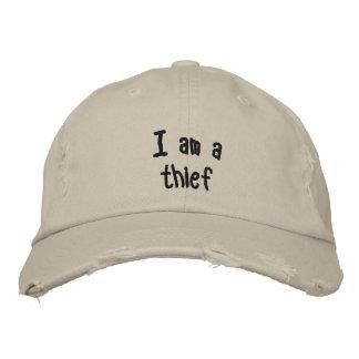 Je suis un voleur casquette brodée