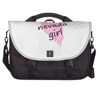 Je suis une fille du Nevada Sacoches Pour Ordinateurs Portables