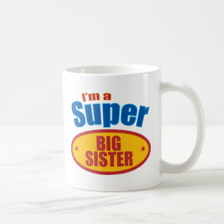 Je suis une grande soeur superbe mug blanc