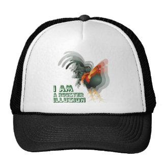 Je suis une illusion de coq casquette