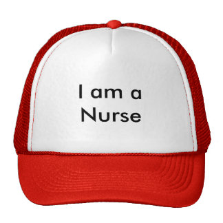 Je suis une infirmière casquettes