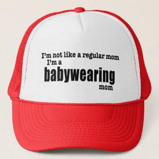 Je suis une maman de Babywearing - casquette de