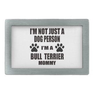 Je suis une maman de bull-terrier boucle de ceinture rectangulaire