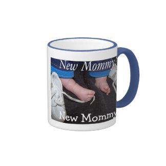 Je suis une nouvelle maman mug ringer