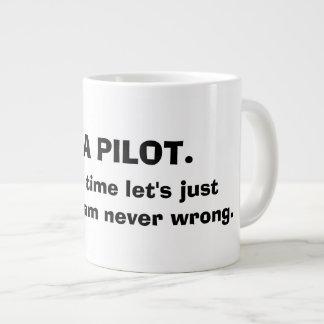 Je suis UNE TASSE de CAFÉ PILOTE