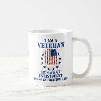 Je suis une tasse de jour de vétérans de vétéran
