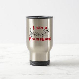 Je suis une tasse de voyage de Househead
