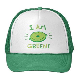 Je suis vert ! CHAPEAU Casquette