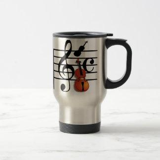 Je suis Violin_ Mug De Voyage