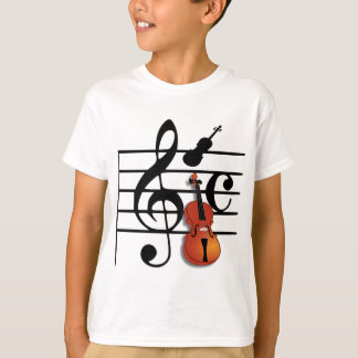 Je suis Violin_ T-shirt