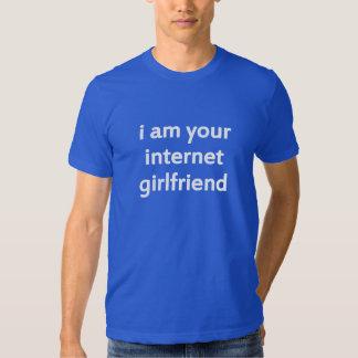 je suis votre amie d'Internet T-shirts