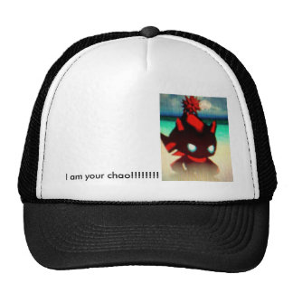 Je suis votre chao ! ! ! ! ! ! ! ! chapeau casquette de camionneur