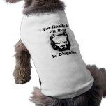 Je suis vraiment un pitbull dans le déguisement manteaux pour animaux domestiques