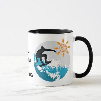 Je surferais plutôt la tasse de tasse de café de