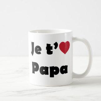 Je t aime papa mug