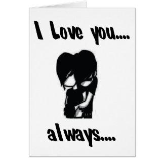 Je t aime… toujours cartes