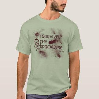 """""""Je T-shirt ai survécu à apocalypse"""""""