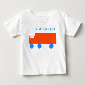 """""""Je T-shirt de bébé aime camions"""""""