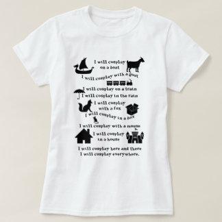 Je T-shirt de Cosplay