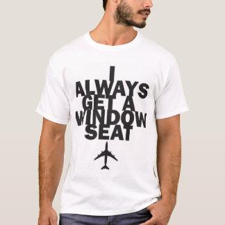 """""""Je T-shirt obtiens toujours siège fenêtre"""""""