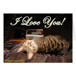 """""""Je t'aime"""" carte"""