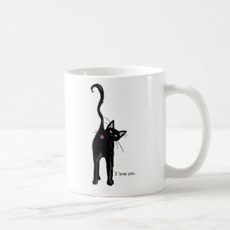 Je t'aime, chat mug