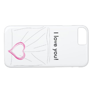 Je t'aime ! coque iPhone 7