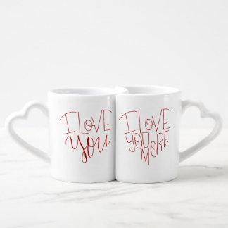"""""""Je t'aime"""" et """"je t'aime les tasses de plus"""" de"""