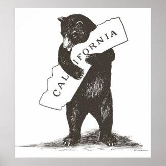 Je t'aime la Californie Posters