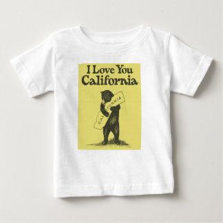 Je t'aime la Californie T-shirt Pour Bébé