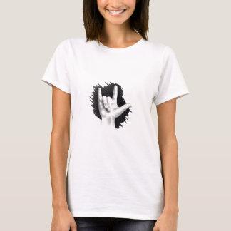 JE T'AIME, langue des signes américaine T-shirt