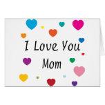 Je t'aime, maman carte de vœux
