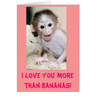 """""""Je t'aime plus que des bananes !"""" La carte de"""