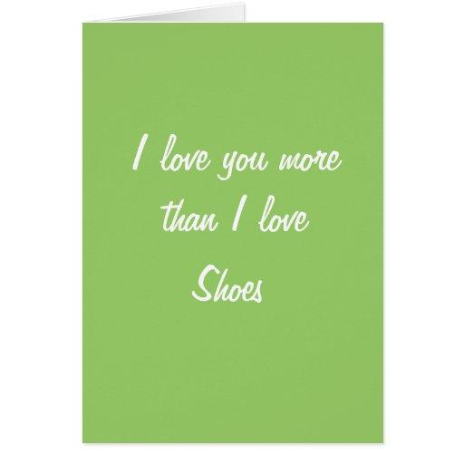 Je t'aime plus que l'amour d'I chausse la carte