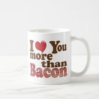 Je t'aime plus que le lard mug