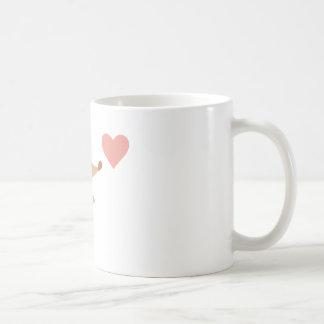 Je t'aime mug blanc